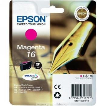 Cartucho de Tinta Magenta Epson 16 - (T1623)