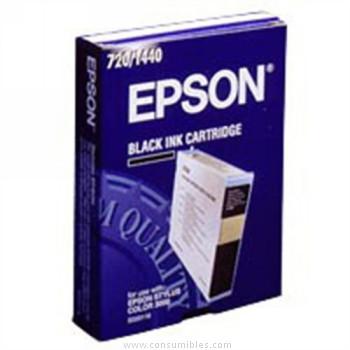 CARTUCHO DE TINTA NEGRO EPSON S020118