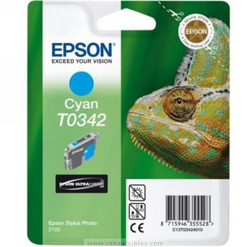 CARTUCHO DE TINTA CIAN 17 ML EPSON T0342