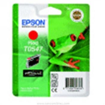 CARTUCHO DE TINTA ROJO EPSON T0547