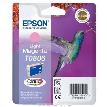 CARTUCHO DE TINTA MAGENTA CLARO EPSON T0806