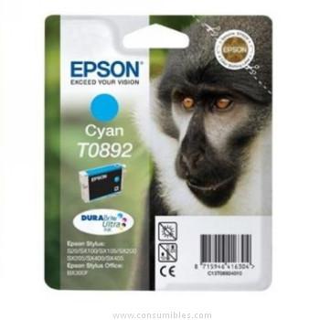 CARTUCHO DE TINTA CIAN 35 ML EPSON T0892