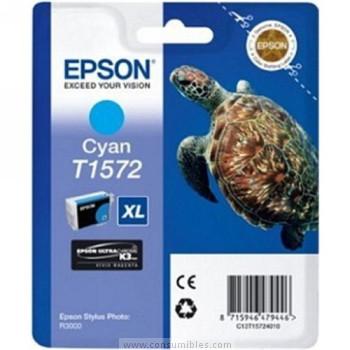 CARTUCHO DE TINTA CIAN 259 ML EPSON T1572