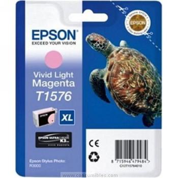 CARTUCHO DE TINTA MAGENTA VIVID CLARO 259 ML EPSON T1576
