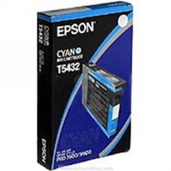 CARTUCHO DE TINTA CIAN 110 ML EPSON T5432
