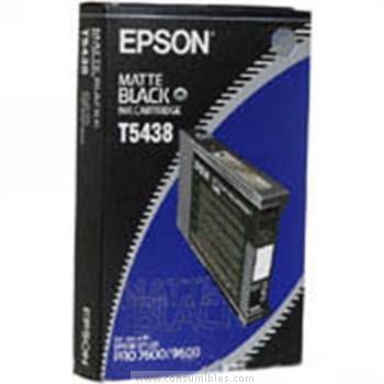 CARTUCHO DE TINTA NEGRO MATE 110 ML EPSON T5438