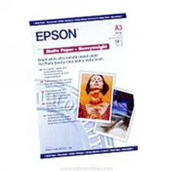 MATE PAPER ALTO GRAMAJE DIN A3 50 HOJAS EPSON S041261