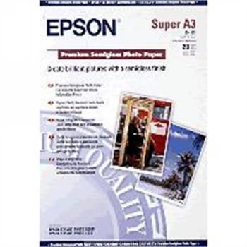 PREMIUM SEMIGLOSS FOTOGRAFICO PAPER SEMIBRILLO DIN A3 + EPSON S041328