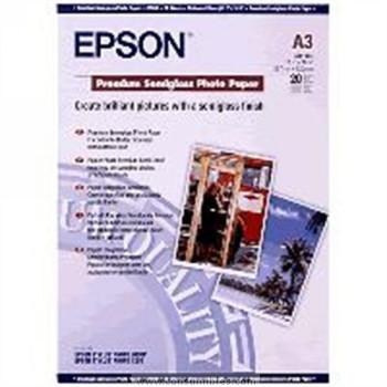 PREMIUM SEMIGLOSS FOTOGRAFICO PAPER SEMIBRILLO DIN A3 20 HOJAS EPSON S041334