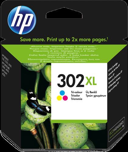 Cartucho de tinta CARTUCHO DE TINTA VARIOS COLORES ALTA CAPACIDAD HP Nº 302XL