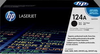 CARTUCHO DE TÓNER NEGRO HP 124A para Color LaserJet CM1017 MFP