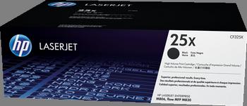 Cartucho de tóner negro Alta Capacidad HP 25X