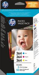 HP 364 PHOTOSMART PK 50 10X15 (T9D88EE)