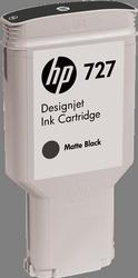 Cartucho de Tinta negro Mate 300 ml HP Nº 727