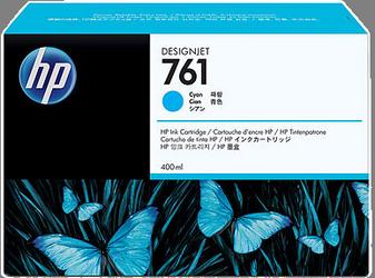 CARTUCHO DE TINTA CIAN 400 ML HP Nº 761