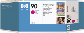 CARTUCHO DE TINTA CARTUCHO DE TINTA MAGENTA 400 ML HP Nº 90