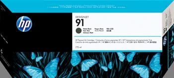 Cartucho de Tinta negro Mate 775 ml Nº 91
