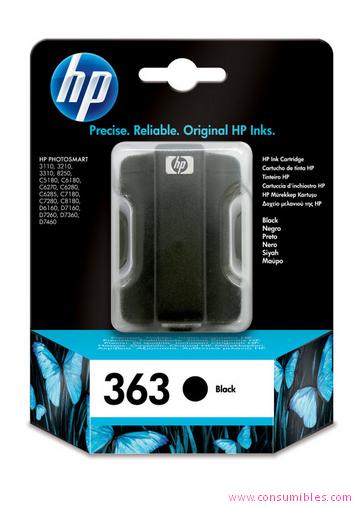 Comprar cartucho de tinta C8721EE de HP online.
