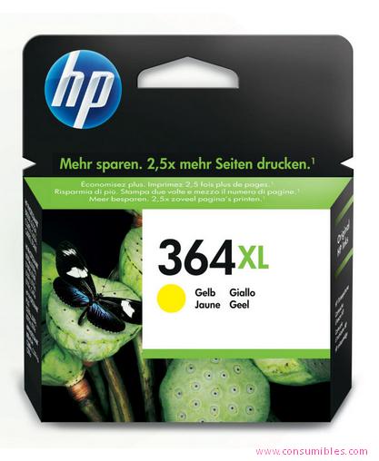 Comprar cartucho de tinta alta capacidad CB325EE de HP online.