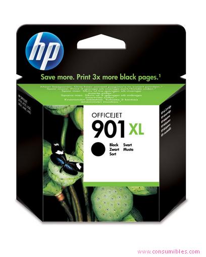 Comprar cartucho de tinta alta capacidad CC654AE de HP online.