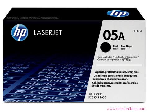 Comprar cartucho de toner CE505A de HP online.