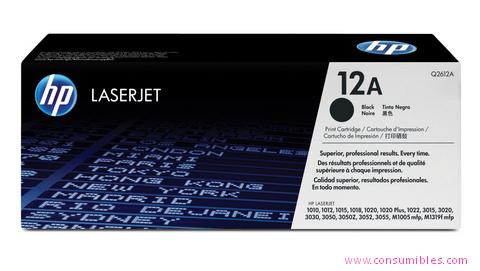 Comprar cartucho de toner Q2612A de HP online.