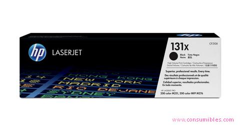 Comprar cartucho de toner alta capacidad CF210X de HP online.