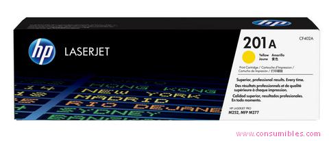 Comprar cartucho de toner CF402A de HP online.