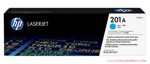 Comprar cartucho de toner CF401A de HP online.