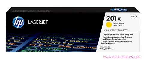 Comprar cartucho de toner alta capacidad CF402X de HP online.
