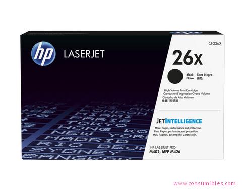 Comprar cartucho de toner alta capacidad CF226X de HP online.