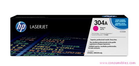 Comprar cartucho de toner CC533A de HP online.