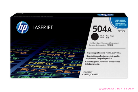 Comprar cartucho de toner CE250A de HP online.