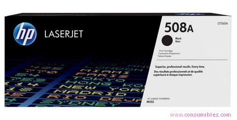 Comprar cartucho de toner CF360A de HP online.