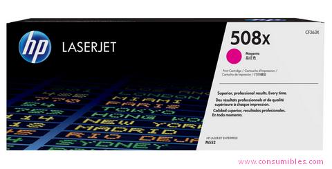 Comprar cartucho de toner alta capacidad CF363X de HP online.