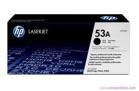 Comprar cartucho de toner Q7553A de HP online.