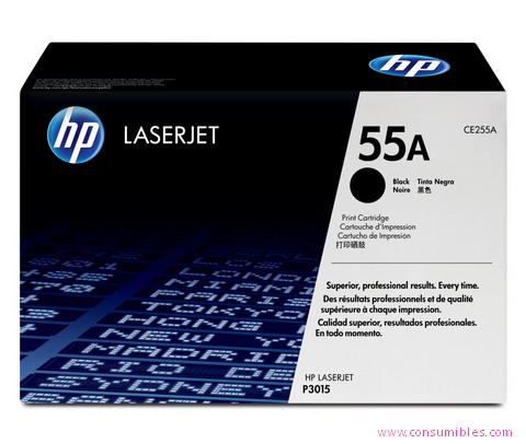 Comprar cartucho de toner CE255A de HP online.