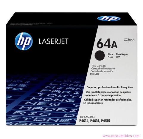 Comprar cartucho de toner CC364A de HP online.