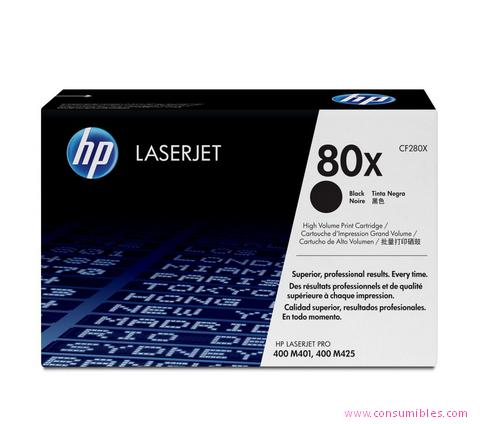 Comprar cartucho de toner CF280X de HP online.