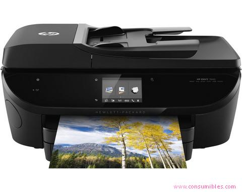 Inyección de tinta HP IMPRESORA MULTIFUNCIÓN ENVY 7640 E-AIO ( E4W47A )