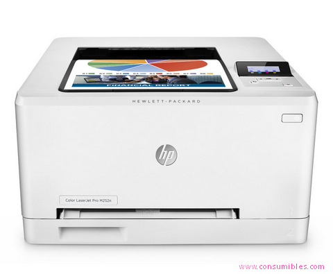 Impresoras láser o led HP IMPRESORA LÁSER-LED LASERJET COLOR PRO M252N ( B4A21A )