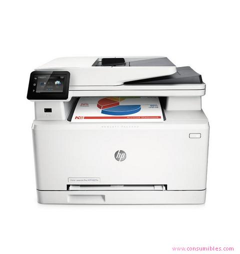 Impresoras láser o led HP IMPRESORA MULTIFUNCIÓN LASERJET COLOR PRO MFP M277N ( B3Q10A )