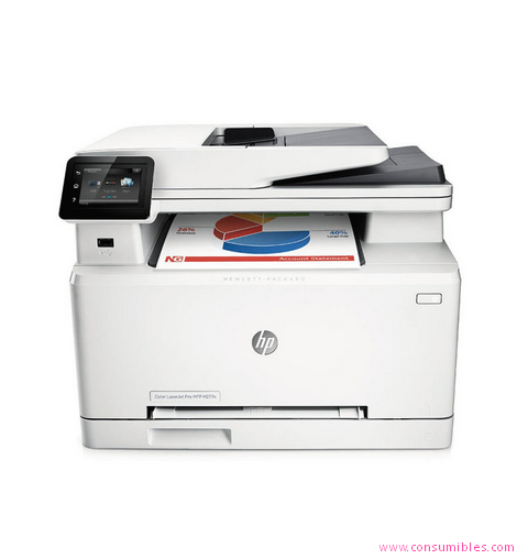 HP IMPRESORA MULTIFUNCIÓN LASERJET COLOR PRO MFP M277N ( B3Q10A )