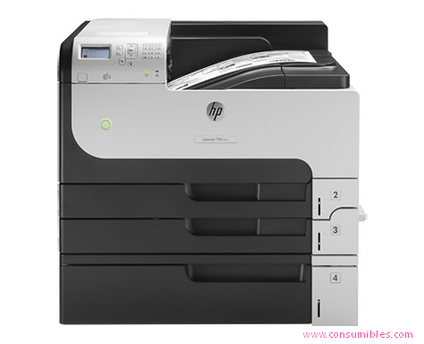 HP IMPRESORA LASER MONOCROMO LASERJET M712XH 41PPM A3 1200X1200DPI CF238A#B19