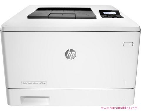 Impresoras láser o led HP IMPRESORA LÁSER-LED LASERJET PRO M452DN ( CF389A )