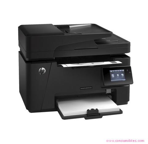 Impresoras láser o led HP IMPRESORA MULTIFUNCIÓN LASERJET PRO PRO MFP M127FW LASER A4 WIFI NEGRO ( CZ183A )
