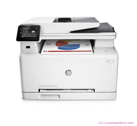 Impresoras láser o led HP IMPRESORA MULTIFUNCIÓN LASERJET PRO PRO MFP M277DW LASER A4 WIFI COLOR BLANCO ( B3Q11A )