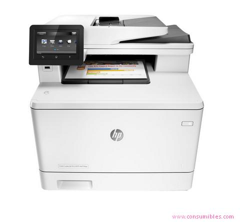 HP IMPRESORA MULTIFUNCIÓN LASERJET PRO PRO MFP M477FDN LASER A4 GRIS ( CF378A )