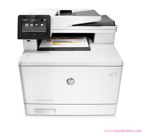 Impresoras láser o led HP IMPRESORA MULTIFUNCIÓN LASERJET PRO PRO MFP M477FNW LASER A4 WIFI GRIS ( CF377A )