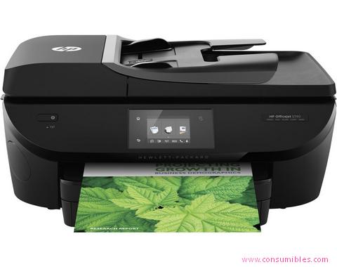 Inyección de tinta HP IMPRESORA MULTIFUNCIÓN OFFICEJET 5740 E-AIO INYECCIÓN DE TINTA A4 WIFI NEGRO ( B9S79A#BHC )